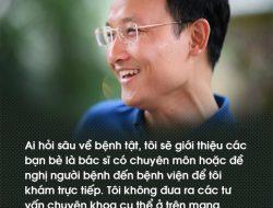 """""""Bác sĩ nghìn like"""" Trần Quốc Khánh: """"Sống là để cho đi"""""""