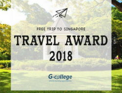 Cuộc thi Travel Award 2018 của G-College Singapore