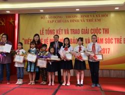 """Cuộc thi """"Viết và vẽ về trẻ em có hoàn cảnh đặc biệt"""" năm 2018"""
