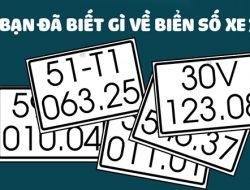Danh sách biển số xe tất cả 63 tỉnh thành Việt Nam