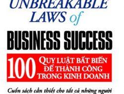 """Review sách """"100 quy luật bất biến để thành công trong kinh doanh"""" tác giả Brian Tracy"""