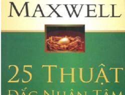 """Review sách """"25 thuật đắc nhân tâm"""" tác giả John C. Maxwell"""