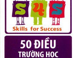 """Review sách """"50 điều trường học không dạy bạn"""" tác giả Charles J. Sykes"""