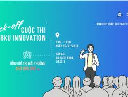 Cuộc thi BKU innovation 2018 do Đại học Bách Khoa TPHCM tổ chức