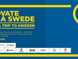 """Cuộc thi """"Sáng tạo như người Thụy Điển 2018"""""""