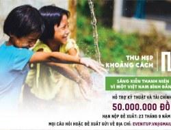 Thu hẹp khoảng cách: Sáng kiến Thanh niên vì một Việt Nam bình đẳng