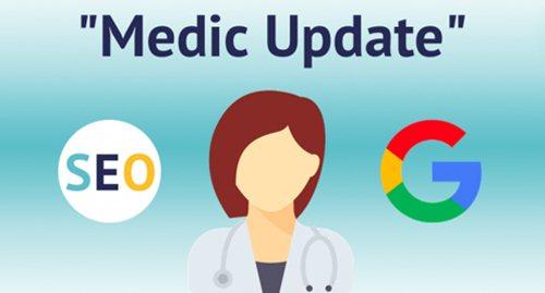 Thuật toán Google Medic ảnh hưởng từ khóa.
