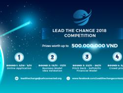 Cuộc thi ý tưởng khởi nghiệp Lead The Change 2018