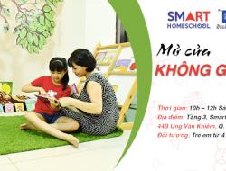 Không gian đọc sách miễn phí cho trẻ tại Smart Homeschool