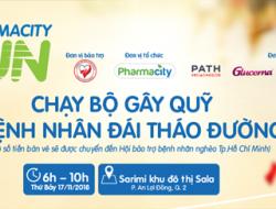 Pharmacity Run – Chạy bộ gây quỹ vì bệnh nhân đái tháo đường