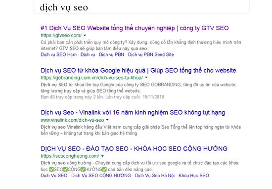 Công ty dịch vụ SEO tổng thể chuyên nghiệp tốt nhất Việt Nam?