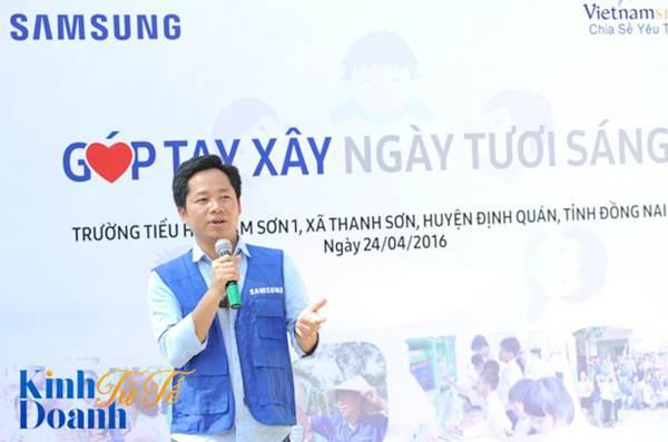 Hoạt động vì cộng đồng của Samsung ở tỉnh Đồng Nai, Việt Nam.
