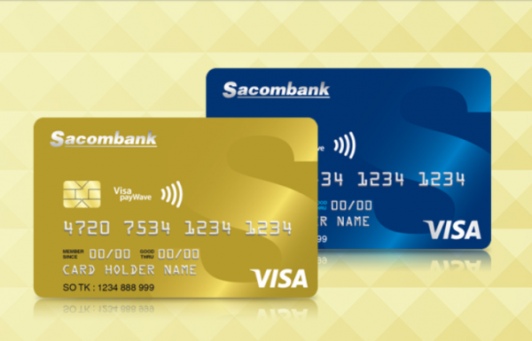 Rút tiền ATM - Thẻ tín dụng ngân hàng Sacombank