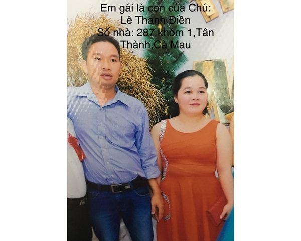Tìm em trai Trần Văn Cảnh 1984 quê Quảng Trị