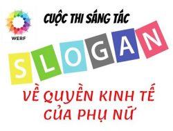 Cuộc thi Sáng tác Slogan về quyền kinh tế của phụ nữ