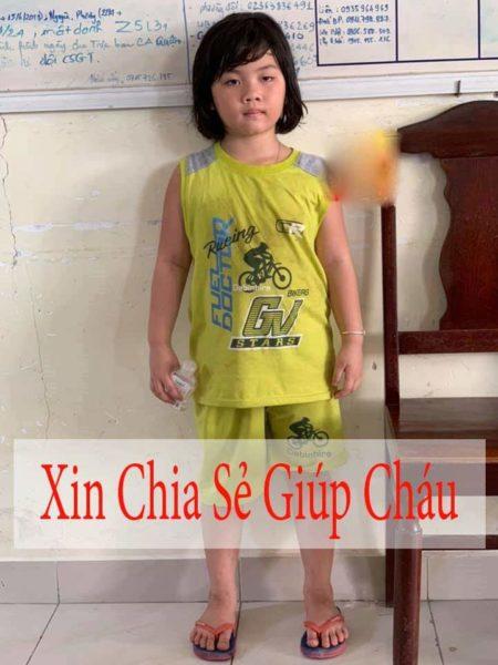 Trẻ lạc Ái Phương ở Đà Nẵng