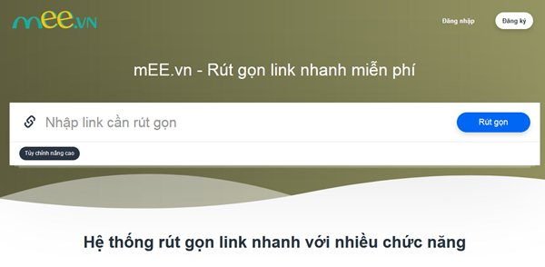 mEE.vn website rút gọn link nhanh miễn phí