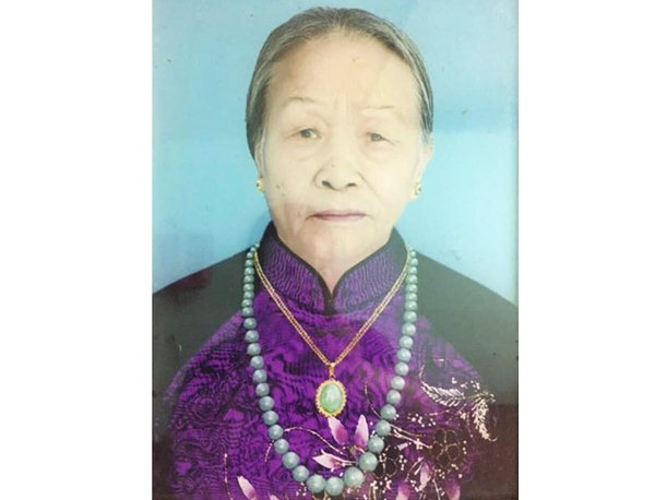 Nguyễn Thị Phi 86 tuổi Hà Nội