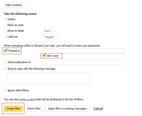 Cách chuyển tiếp email Yandex sang Gmail