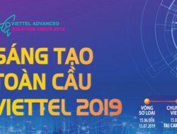 """Cuộc thi tìm kiếm giải pháp """"Sáng tạo toàn cầu Viettel 2019"""""""