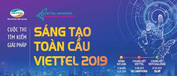 Cuộc thi tìm kiếm giải pháp Sáng tạo toàn cầu Viettel 2019