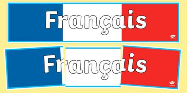 Bằng tiếng Pháp Francais
