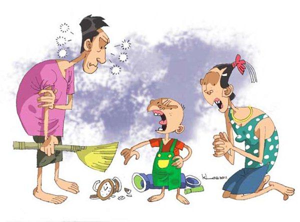 Được nuông chiều - Những đứa trẻ vứt đi