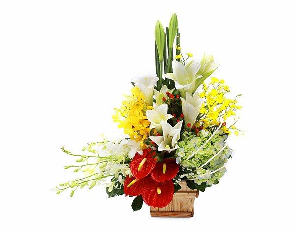 Cách đặt hoa tươi qua mạng