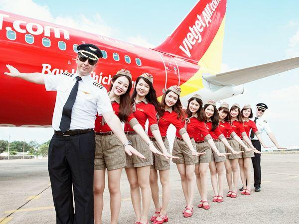 Hãng máy bay Vietjet Air