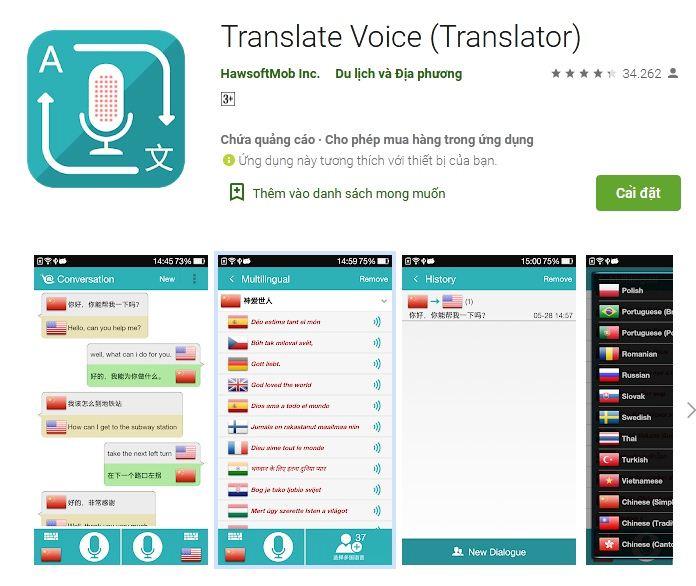App web tiếng Anh ghi lại từ vựng