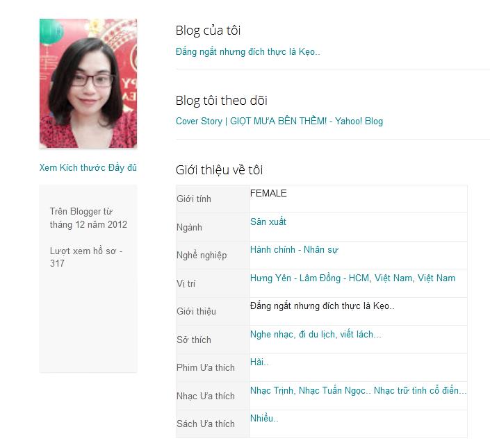 Blog Khúc Thụy Du