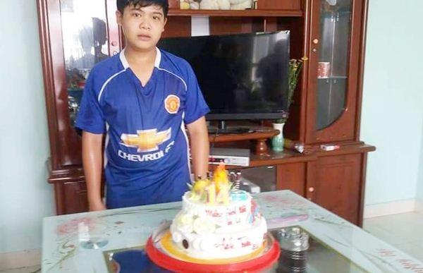 Lê Huỳnh Anh Tuấn 15 tuổi Tiền Giang