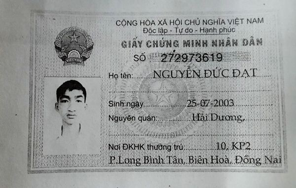 Nguyễn Đức Đạt 2003 Biên Hòa Đồng Nai