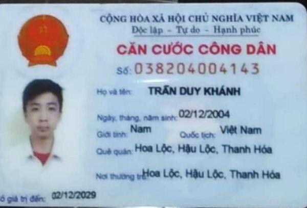 Trần Duy Khánh 2004 Thanh Hóa