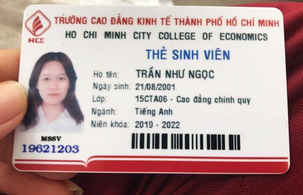 Trần Như Ngọc 2001