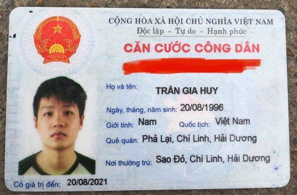 Trần Gia Huy 1996 Hải Dương