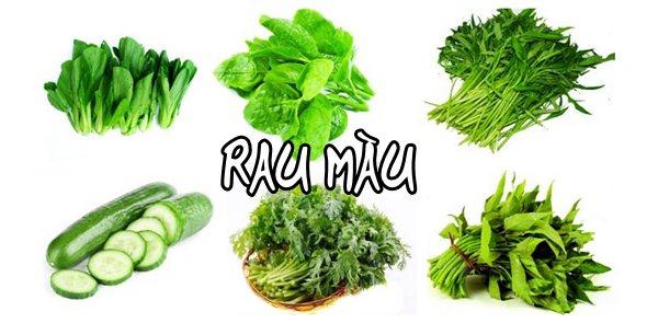 Biểu hiện thừa nguyên tố trên rau màu