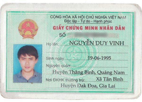 Nguyễn Duy Vinh 1995 Gia Lai