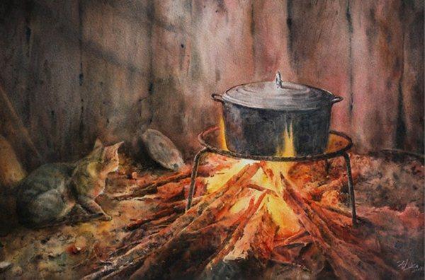 Phân tích bài thơ bếp lửa