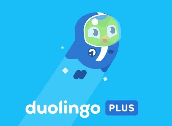 Ứng dụng Duolingo plus