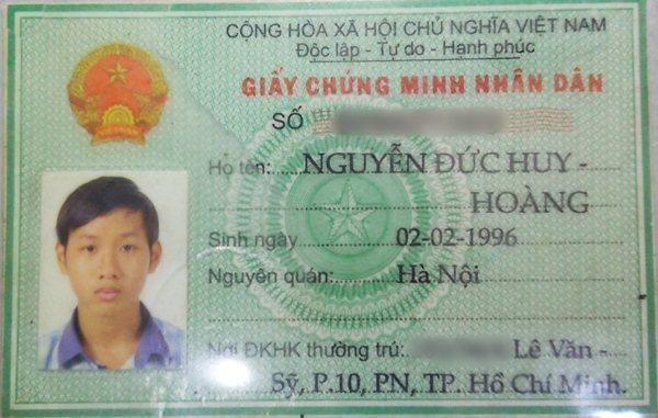Nguyễn Đức Huy Hoàng 1996