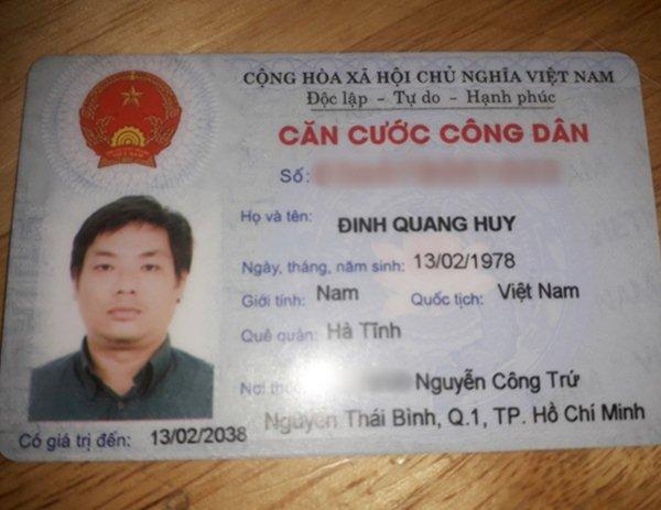 Đinh Quang Huy 1978