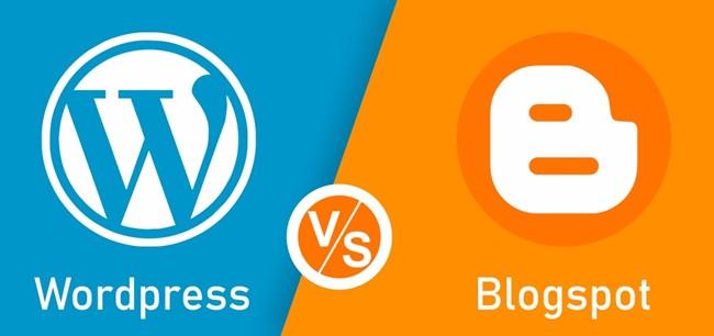 Thiết kế web WordPress hay Blogspot