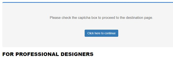 Lỗi hiển thị captcha