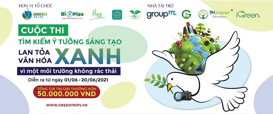 Cuộc thi Lan tỏa văn hóa xanh Green Trips Vietnam