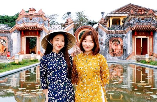 Du khách Hàn Quốc