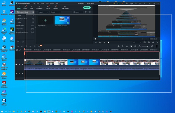 Lỗi phần mềm Wondershare Filmora
